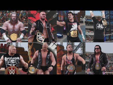 Video WWE 2K18 Ultimate 8 Man World Champion Match | Cena vs Orton vs RVD vs HHH vs Brock Lesnar vs Eddie download in MP3, 3GP, MP4, WEBM, AVI, FLV January 2017