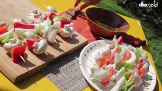 Przepis na szaszłyki warzywne