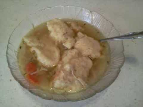 How To Make Killer Good Chicken and Dumpling Soup! Or Noodles Can Be Substituted!