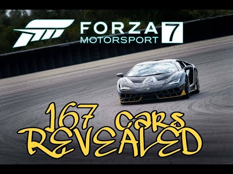 FM7 Reveals the first 167 cars!!