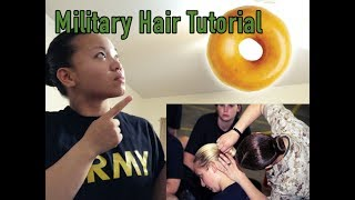 Wonder how to do your bun before you go to BCT? I wished I knew, because my first picture was ate up!Want more tutorials?👉 Snapchat : Erickabernie👉 Instagram/Twitter: @Erickabernie👉  https://www.patreon.com/Erickabernie?alert=2🇺🇸   I am proud to be an American Soldier 🇺🇸