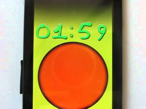 Video of Very fast Timer / hourglass