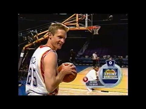 Steve Kerr Battles Craig Kilborn in 3-Point Shootout (2004) (видео)