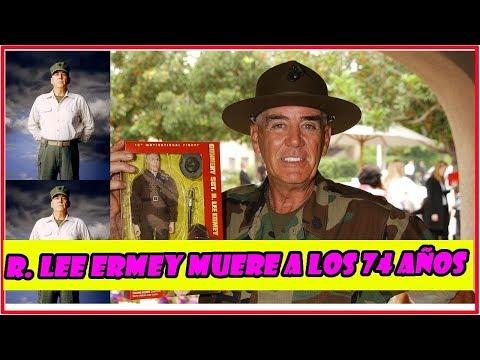 """La estrella de """"Full Metal Jacket"""" R. Lee Ermey mu.ere a los 74 años"""