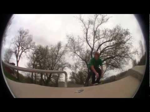 Foliageness of the Iowa City Skatepark.