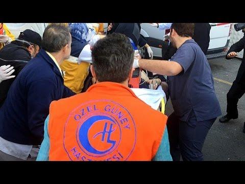 turchia: attentato kamikaze nel centro di istanbul, almeno 10 vittime