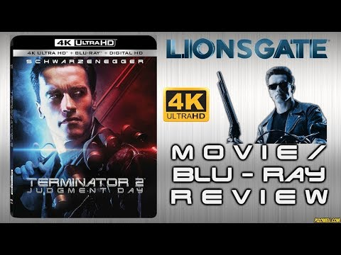 TERMINATOR 2: JUDGEMENT DAY (1991) - Movie/4K Blu-ray Review (Lionsgate)