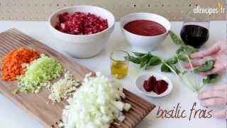 Recette pour faire une sauce bolognaise