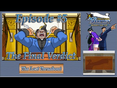 Phoenix Wright: Justice For All - Business Card Bust, Wellington Wasted - Episode 5