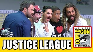 Video JUSTICE LEAGUE Comic Con 2017 Panel News & Highlights MP3, 3GP, MP4, WEBM, AVI, FLV Oktober 2017