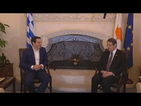 Αισιοδοξία Τσίπρα για επανέναρξη των διαδικασιών επίλυσης του Κυπριακού