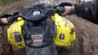 5. 2019 Can Am 650 XMR ride and Razor Rollover