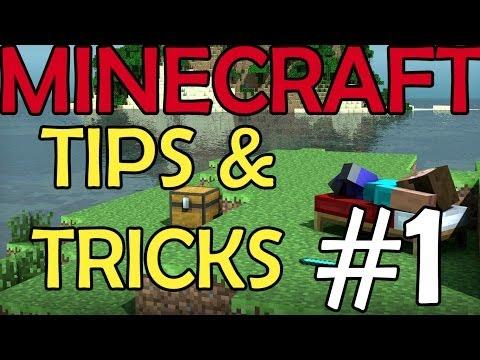 MINECRAFT: TIPS & TRICKS #1 [St3pNy]