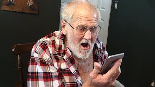 Video JIMMY KIMMEL CALLS GRANDPA!! (PRANK) MP3, 3GP, MP4, WEBM, AVI, FLV Maret 2019