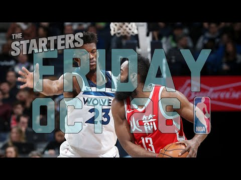 Video: NBA Daily Show: Oct. 26 - The Starters