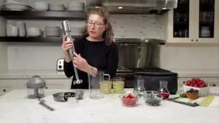 Smart Stick® Variable Speed Cordless Hand Blender with Electric Knife Demo Video Icon