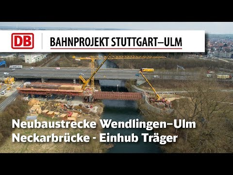 Neckarbrücke Neubaustrecke...