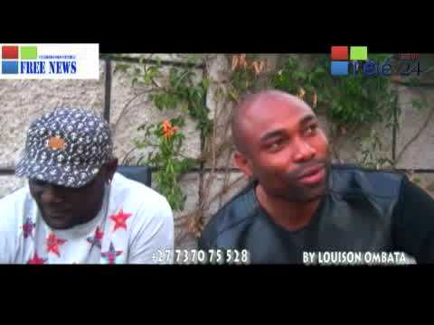 TÉLÉ 24 LIVE:  LIPASA BA MBONGO, LE NOUVEAU MILLIONNAIRE CONGOLAIS RECOIT  DJINO EQUALISEUR EN AFRIQUE DU SUD