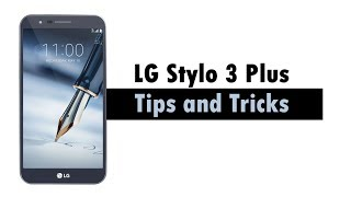 LG Stylo 3 Plus Tips and Tricks Don't forget to Like, Favorite, and Share the Video!!! For More Videos, Check Out My Website at...