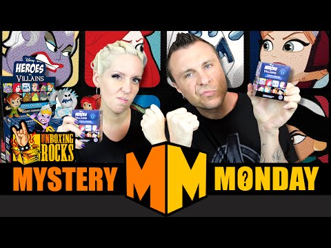Mystery Monday Episode 13: Weekly GIVEAWAY and Funko Disney Heroes Vs. Villains Minis