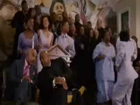 The Presence Of The Lord Is Here - Katt Williams (directing the choir)