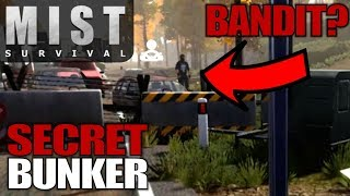 6. SECRET BUNKER & BANDITS | Mist Survival | Let's Play Gameplay | S01E03