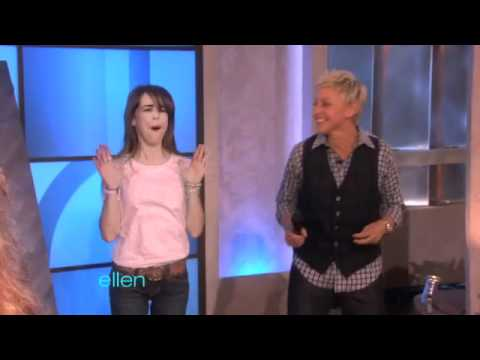 Excited - Today, Ellen featured one of her favorite segments: Bad Paid-For Photos -- Live! Not only were these the funniest photos yet -- one woman couldn't hold back ...