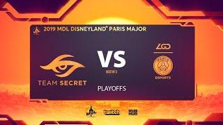 Team Secret vs PSG.LGD, MDL Disneyland® Paris Major, bo3, game 3 [Adekvat & NS]