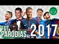♫ RETROSPECTIVA DO FUTEBOL - 2017 | Paródia Bruno Mars - 24K Magic