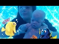 Baby Can Swim Under Water! Full Body Silicone Baby Doll