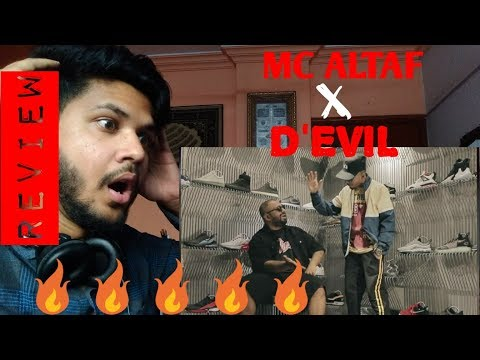 Wazan Hai - MC ALTAF | D'EVIL (REACTION/REVIEW)