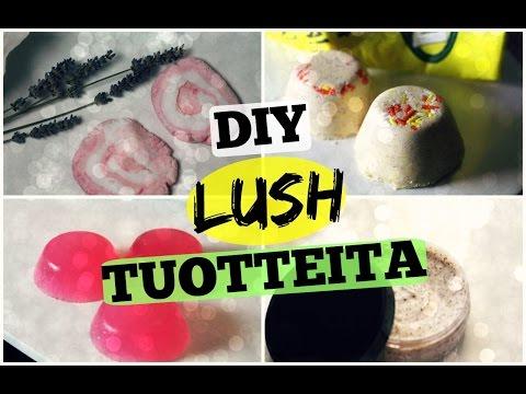 DIY LUSH TUOTTEITA