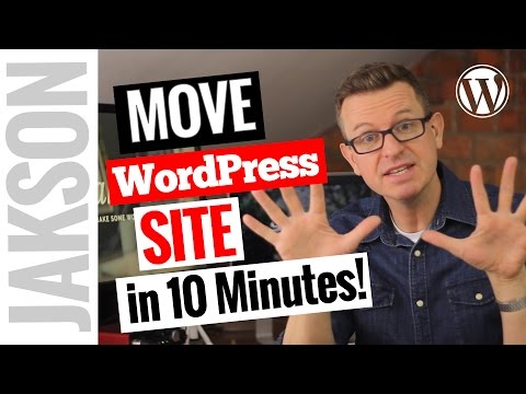 How To Transfer/Migrate An Entire WordPress Site To New Host In 10 Minutes - Duplicator Plugin