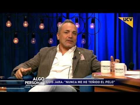 """video Luis Jara habla del """"polvo secreto"""" que usa para camuflar la calvicie"""