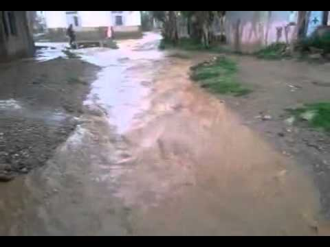 الامطار تعري البنية التحتية بحي الفرح تيفلت