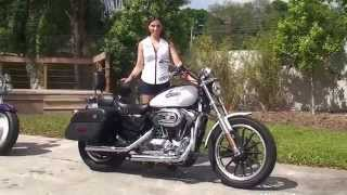 8. Used 2007 Harley Davidson Sportster 1200 Low Motorcycles for sale in Lakeland, FL