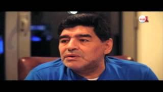حوار خاص دييغو مارادونا مع جلال بزرارة