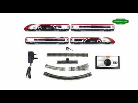 Hornby Virgin Trains Pendolino Train Set - R1155