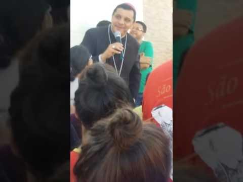 Visita do Bispo em tavares PARAÍBA