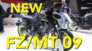 1. 2018 Yamaha  MT-09 First Look
