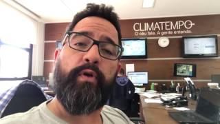 O meteorologista Alexandre Nascimento comenta sobre possibilidade de nevar no outono/inverno de 2017.