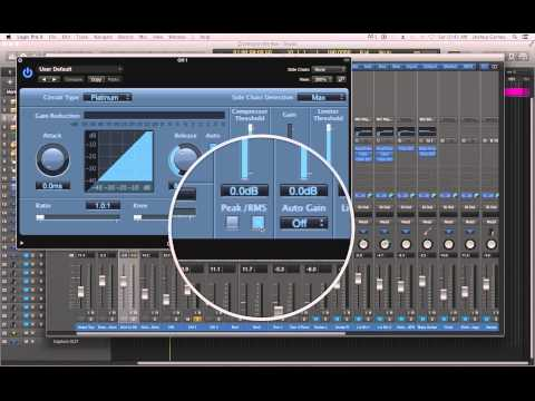 Logic Pro X - #63 - Mixing (part5): Compressor, Expander, and Enveloper on Drums
