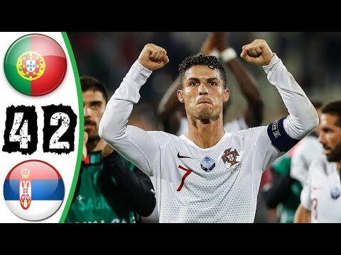 Euro 2020 Qualifiers  Serbia vs Portugal 2-4 Extended highlights
