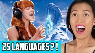 Video Frozen Hit Song Let It Go In Multi-Language Reaction   Sung In 25 Languages! download in MP3, 3GP, MP4, WEBM, AVI, FLV January 2017
