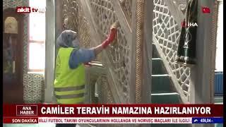 Camilerimizi Temizleyerek Ramazan Ayına Hazırlıyoruz - Akit Tv