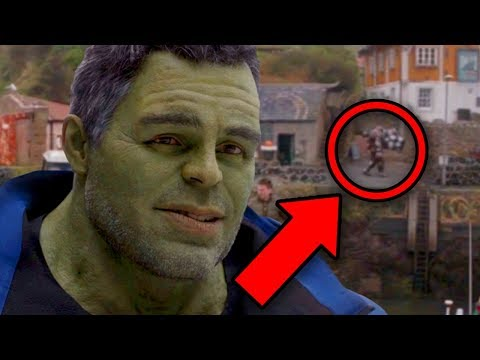 Avengers Endgame MISSING EASTER EGG Search! (Endgame Rewatch)
