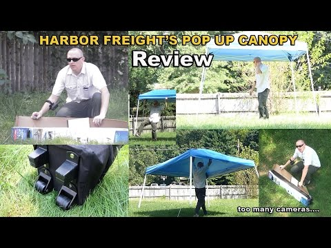 Harbor Freight Pop Up Canopy review - coverpro