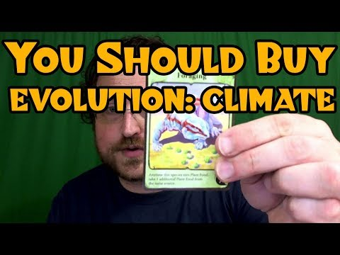EVOLUTION: CLIMATE -- Why You Should Buy a Boardgame (in 5 Minutes) (видео)