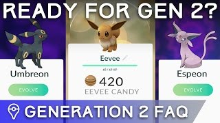 GETTING PREPARED FOR GEN 2 LAUNCH IN POKÉMON GO - YOUR QUESTIONS ANSWERED by Trainer Tips