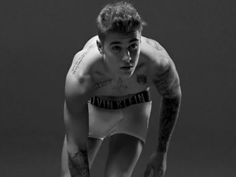Justin Bieber's Calvin Klein Abs Are Made of Photoshop Lies